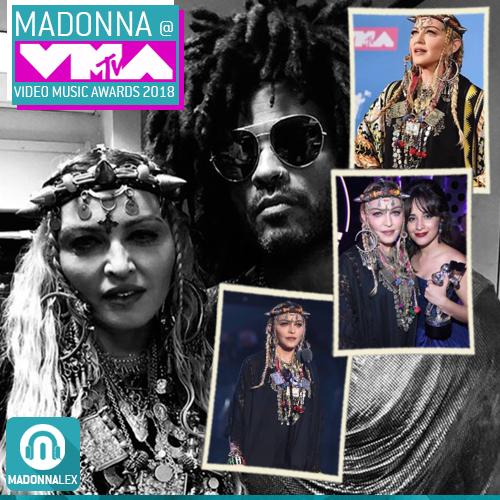 Madonna et sa tenue des VMA inspirée de cultures berberes