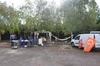 Bel Maille - Les salariés campent sur place