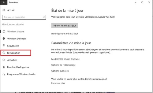 Win 10 m-à-j une option à regarder