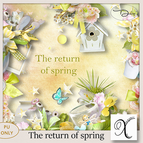 The return of spring Minikit