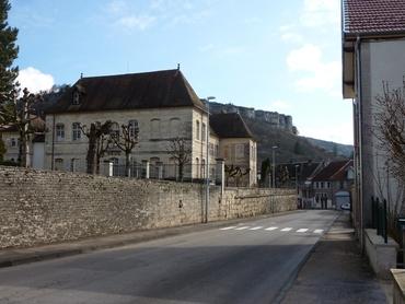 Ornans - Hôpital Saint-Louis (18e siècle)