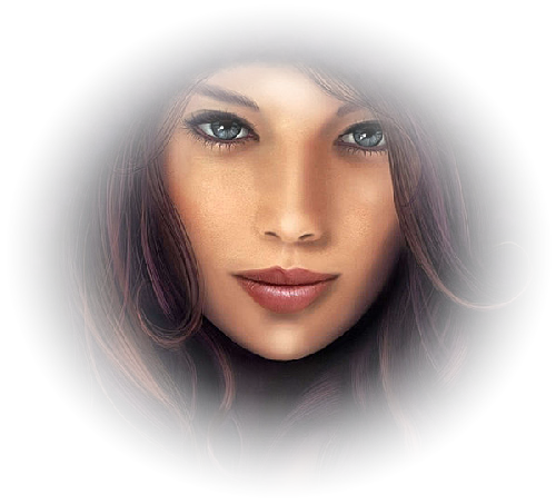 tubes visages féminins