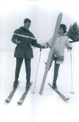 Janvier 1965 : Le ski, c'est exquis...