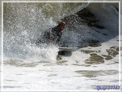 Surfeur - Plage du Peu des Hommes - La Couarde-sur-Mer - Île de Ré - 17