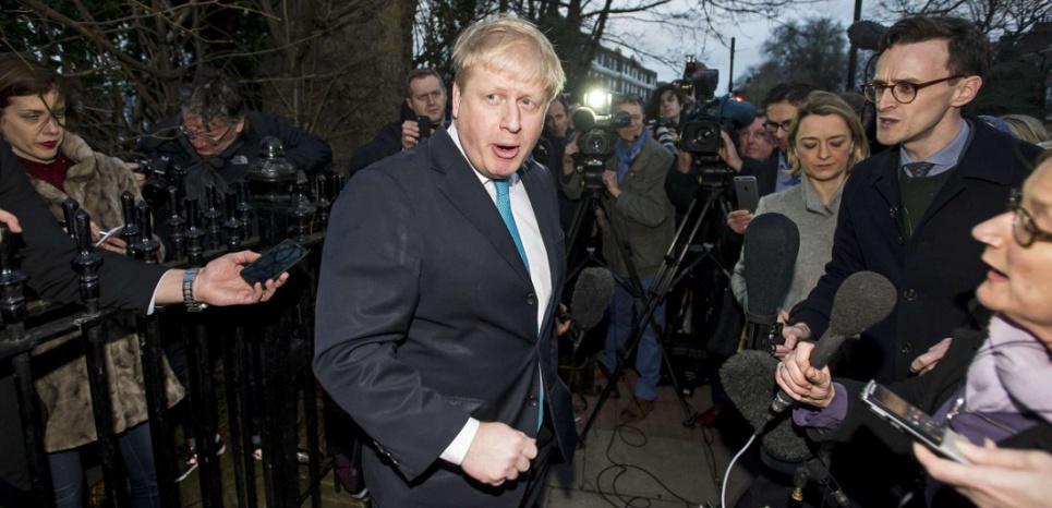 La maire de Londres conservateur Boris Johnson, s'est déclaré pour la sortie du Royaume-Uni de l'Union européenne. (Sipa)