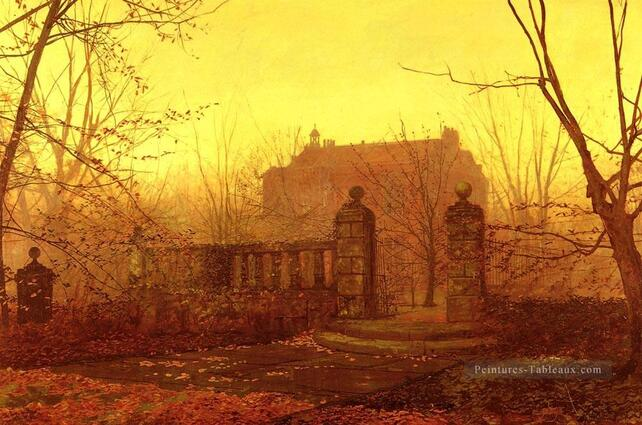 Le tableau du samedi : promenade d'automne