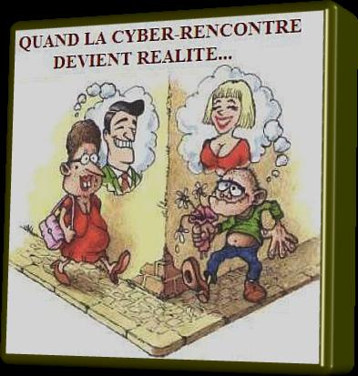Cyber rencontre (Humour)