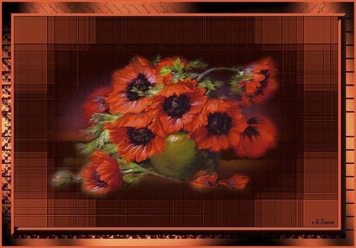 Bouquet coquelicots