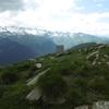 Au sommet du pic d\'Aubas, borne frontière 355