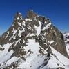 Du sommet du pic Peyreget (2487 m), le pic du Midi d'Ossau