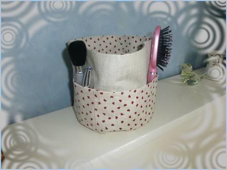 Corbeille de salle de bain