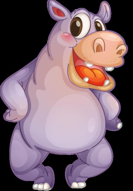 Des Hippopotames