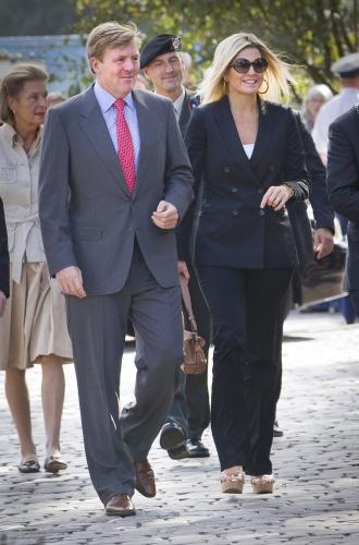 Maxima et Willem Alexander inaugurent