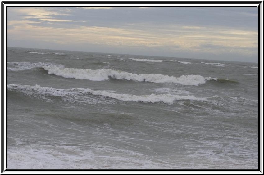 la Cotinière pendant les tempêtes de début février 2014