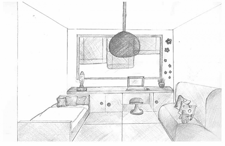 chambre en perspective dessin chambre en perspective - Dessin De Chambre