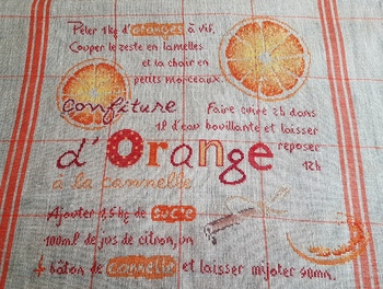 Confiture d'oranges de LLP