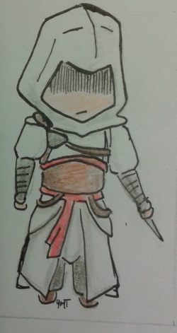 Chibi Assassins' Creed Altaïr