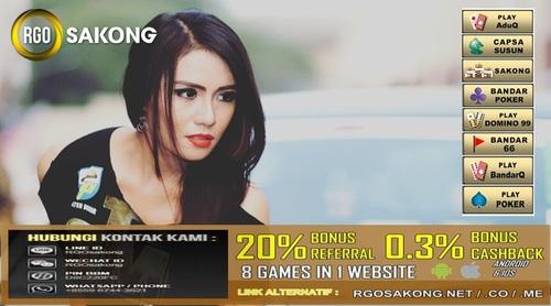 Agen Sakong Online Situs RGOSAKONG Indonesia