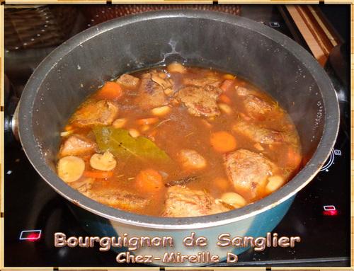 Sanglier Façon Bourguignon (Sans Vin)
