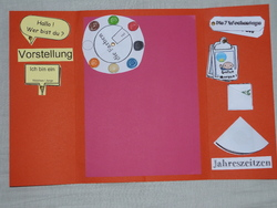 Un lapbook en allemand