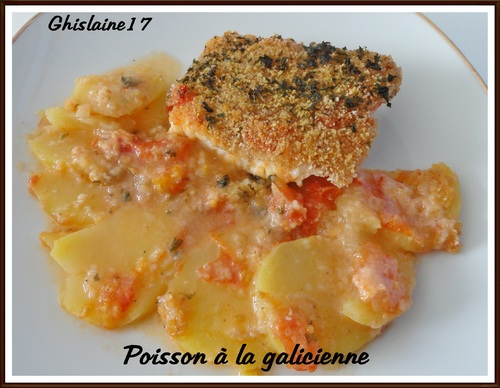 Poisson à la galicienne