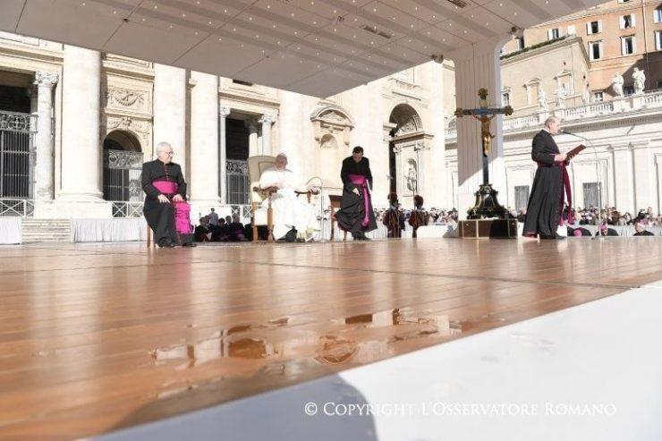 Audience générale du 11/10/2017 © L'Osservatore Romano