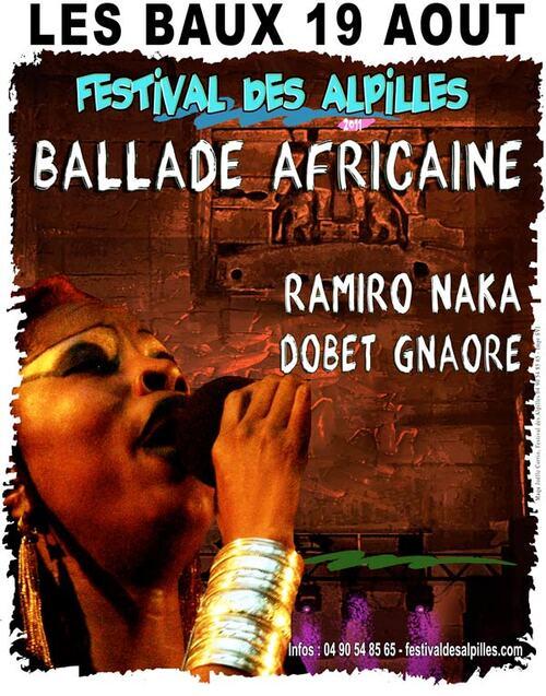 "LES BAUX : ""Ballade Africaine"" 19 août"