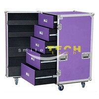 ST durable Aluminium Drawer Case with wheels