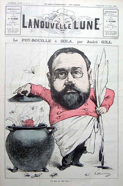 Ce que ça sent bon !!! : caricature exécutée par André Gill et publiée dans La Nouvelle lune du 23 avril 1882