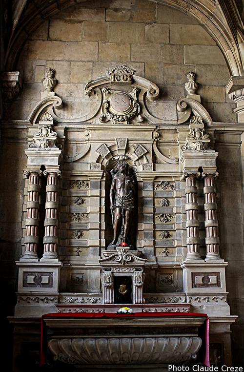 « autel privilégié »  Autel  cathedrale Notre dame au Havre