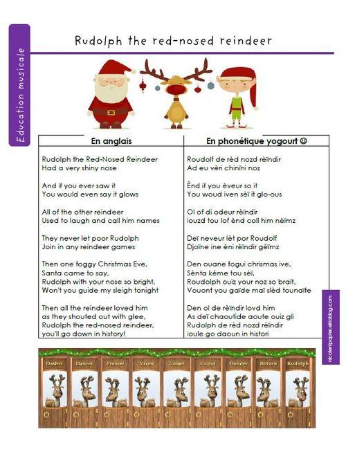Rudolph le petit renne au nez rouge contre le harcèlement scolaire