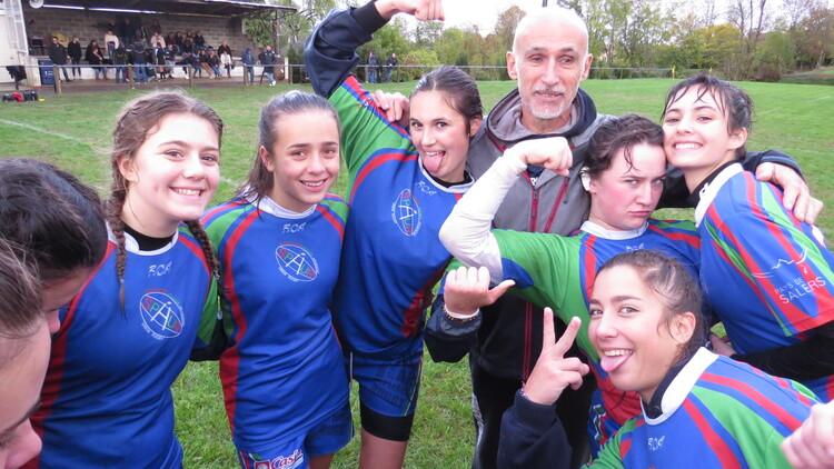2018-11-10: Les cadettes à Juillac