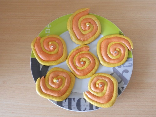 Meringues «  Spirales »