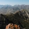 Du sommet du pic de Peyrelue (2441 m), Sierra Telera, Collarada, Ip