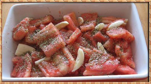 Pétales de Tomates Confites (Suite)