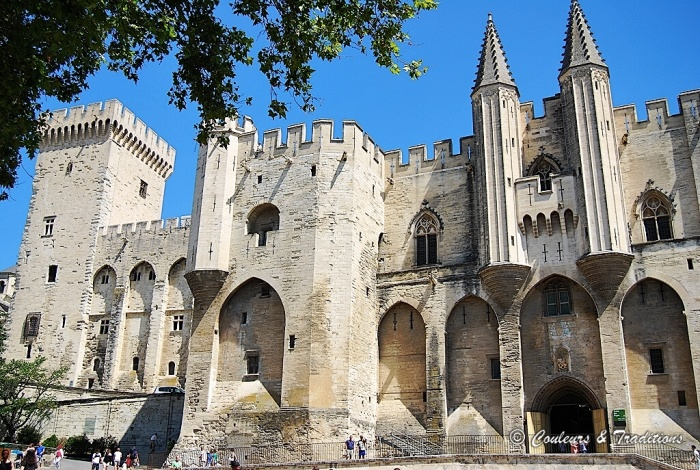 Palais des Papes, le plus grand Palais Gothique