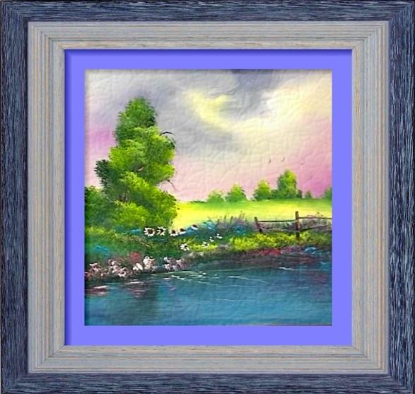 Dessin et peinture - vidéo 3081 : Comment peindre un paysage en un tour de main ? - huile ou acrylique
