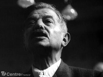 Pierre Laval pendant son procès - DR