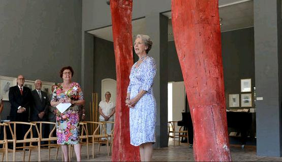Benedikte au musée