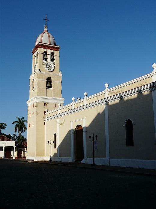 la cathédrale San Salvador de Bayamo