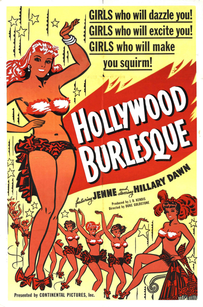 Burlesque Posters