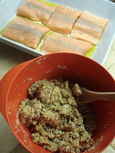 Pavés de Saumon en Croûte de Moutarde 4