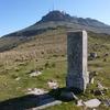Borne frontière numéro 22 (670 m), au col de Zizkuitz Ouest ou Méatcéco-lépoa