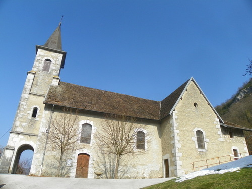 L'église Saint Pierre / Sainte Apolline de Chanaz