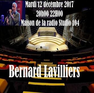 La semaine vivante - Jour 6: Bernard Lavilliers - Les concerts d'Inter - 12 décembre 2017