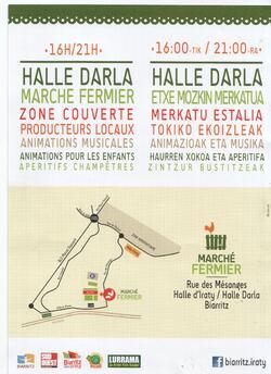 Marché fermier - Biarritz