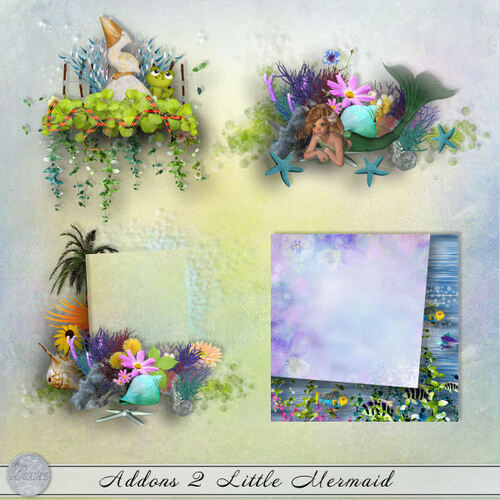 Addons 1 et 2 Little Mermaid