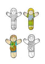 Marionnettes de doigts, et autres graphismes