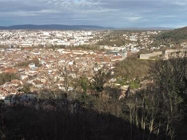 DRC - Besançon vu du Fort de Chaudanne