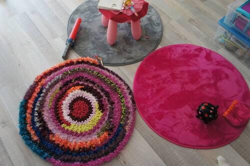 Le tapis tricotin